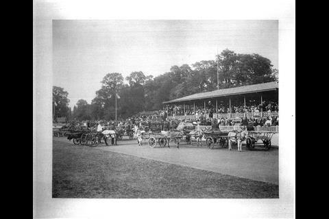 Herne Hill Velodrome in 1899